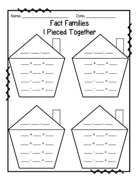 Fact Families I Pieced Together