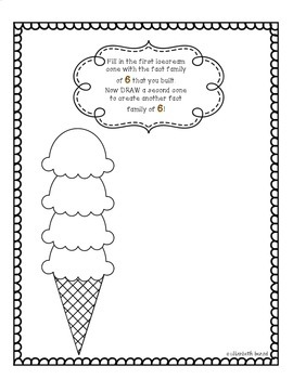 Fact Families: Ice Cream Cones