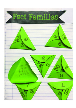 Fact Families-Interactive Notebook