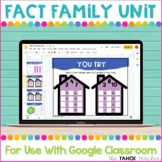 Fact Families Interactive Unit for Use With Google Classroom™