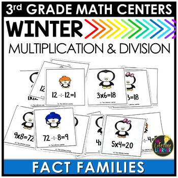 Fact Families January Math Center
