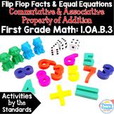 Fact Families, Make Ten, Doubles: Commutative & Associative 1.OA.B.3 Common Core
