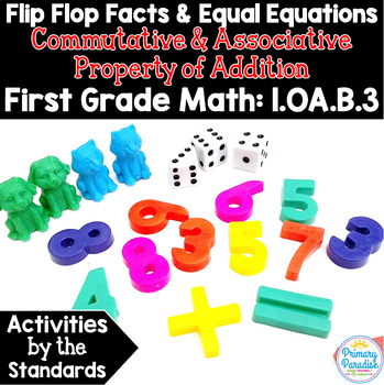 Fact Families, Make Ten, Doubles: Commutative & Associative 1.OA.B.3 Common Core