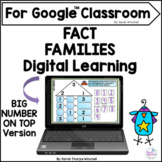 Fact Families Math Activity for the Google™ Classroom