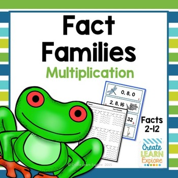 Fact Families Multiplication and Division Animals
