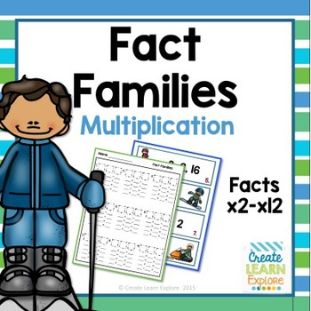 Fact  Families Multiplication and Division Winter