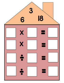 Fact Families-  Multiplication and Division
