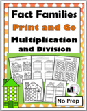 Fact Families - Multiplication and Division - No Prep