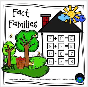 Fact Families No Prep