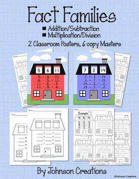 Fact Families Packet