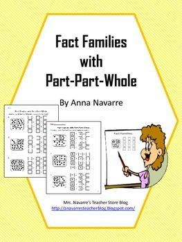 Fact Families Part-Part-Whole