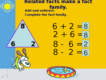 Fact Families Powerpoint