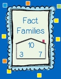 Fact Families Practice Sheets