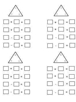 Fact Families Quiz