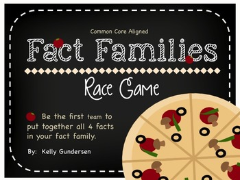 Fact Families Race Game