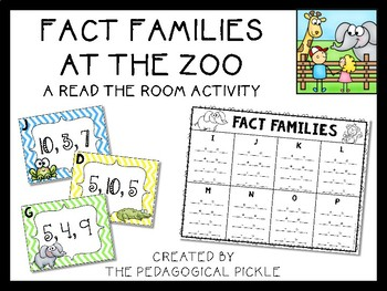 Fact Families Read the Room