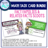 Fact Families & Related Facts Task Cards BUNDLE