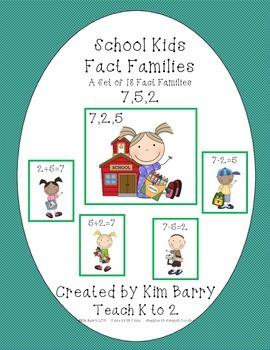Fact Families - School Kids