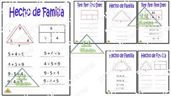 Fact Families (Spanish)