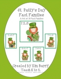 Fact Families - St. Patty's Day