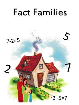 Fact Families Templates