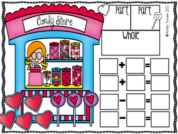 Fact Families: February Valentine Candy Shop