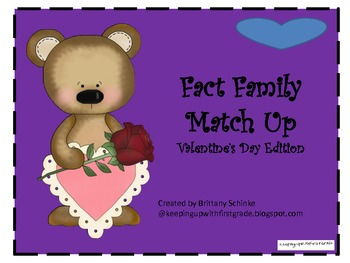 Fact Families- Valentine's Day