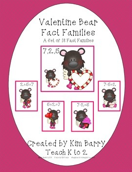 Fact Families - Valentine's Day