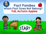 Fact Families Which Fact Does Not Belong  Self Correcting