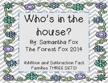 Fact Families: Who's In The House?