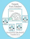 Fact Families - Winter Penguins