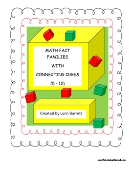 Fact Families With Connecting Cubes (Families 5-12)
