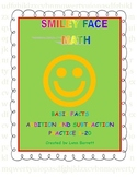 Fact Families With Counters - SMILEY FACE FACTS