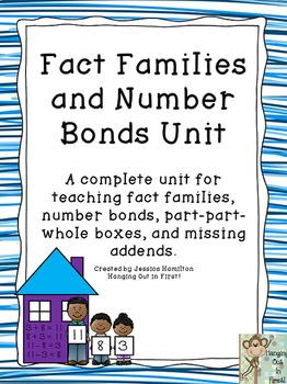 Fact Families and Number Bonds Unit
