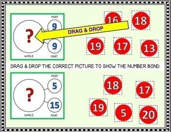 Google Classroom Math Fact Families Paperless Task Cards