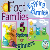 Fact Families kinder 5 stations games Math Facts Part Part