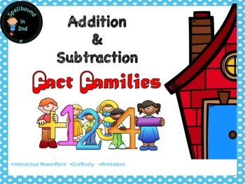 Fact Families- related addition and subtraction facts