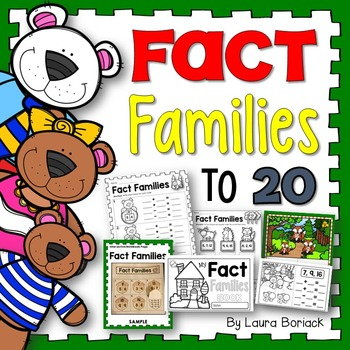 Fact Families to 20 (with Related Facts and Using Addition to Subtract)