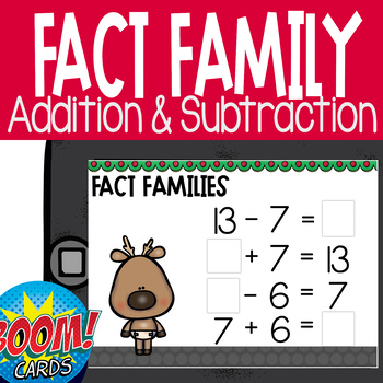 Fact Families with Addition & Subtraction 1.oa