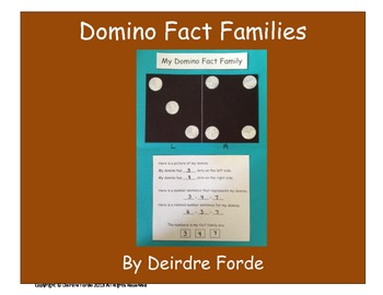 Fact Family Domino Project