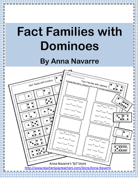 Fact Families with Dominoes