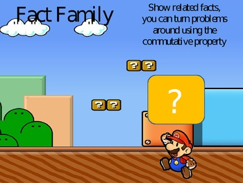 Fact Families with the Mario Bros