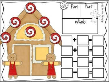 Fact Families: Gingerbread Houses December