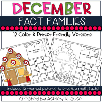 Fact Families:Gingerbread Houses