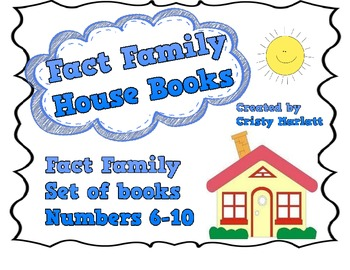 Fact Familly Books - Numbers 6-10