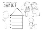 Fact Family Activity - Boy Version
