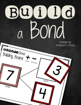 Fact Family Activity Build a Bond