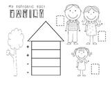 Fact Family Activity - Girl Version