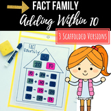 Fact Family Adding and Subtracting Within 10