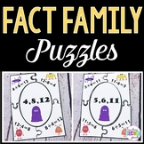 Fact Family Addition / Subtraction Facts 24 Puzzles Center